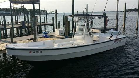 diesel panga center console amazing boat 26 5 ft low - Diesel Panga Boat
