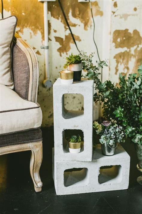 industrial wedding table decorations copper and concrete ideas for a chic industrial wedding