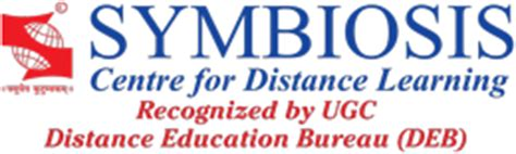 Scdl Mba by Symbiosis Centre For Distance Learning Distance