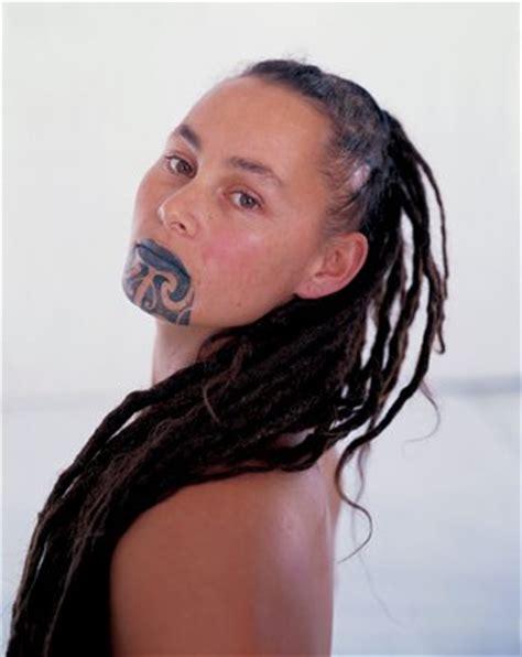 maori face tattoo moko