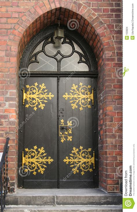 ornate door stock photo image  wall decorative steps