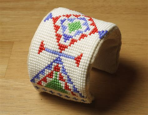 beaded cuffs american inspired beaded cuff bracelet