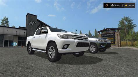 Toyota Fs Toyota Hilux Fs 17 Farming Simulator 2017 17 Ls Mod