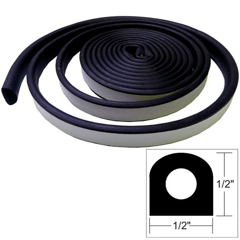 Seal L by Taco Weather Seal 10 L X 189 Quot W X 189 Quot H Black