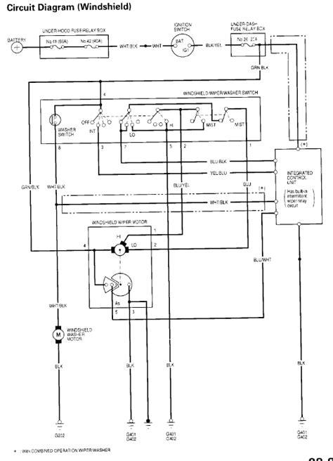 wiper motor wiring question honda tech honda forum discussion
