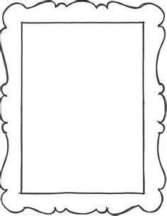 frame template pesquisa google moldes pinterest