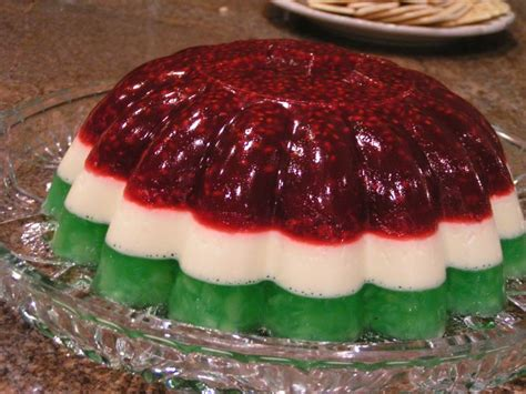 raspberry jello mold