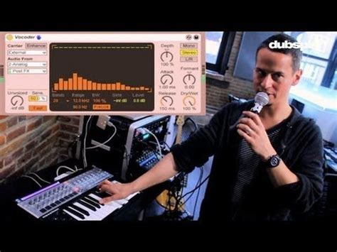 tutorial video fx live ableton live tutorial vocal processing effects live