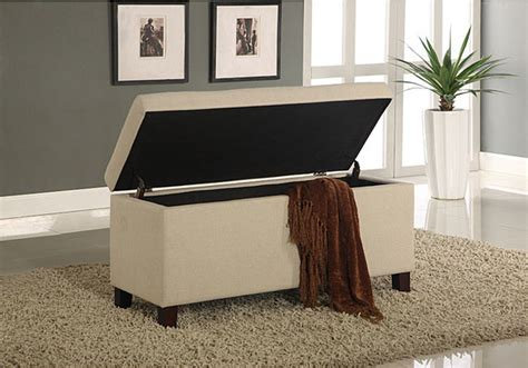 contemporary storage bench tufted linen storage bench contemporary upholstered
