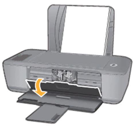 Printer Hp J210 a paper jam error message displays for hp deskjet 1000