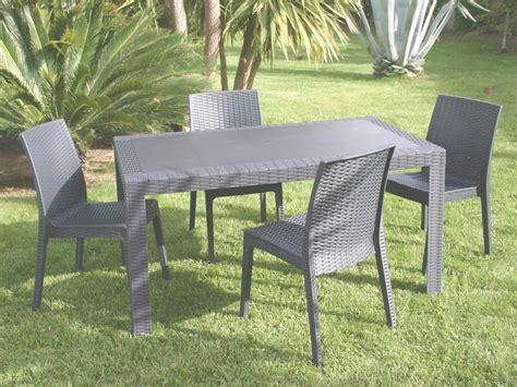 Salon De Jardin En Beton by Beautiful Table Jardin Resine Imitation Beton Gallery