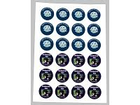 Aufkleber Drucken Mit Laserdrucker by Sattleford Laserdruck Etiketten 2400 Etiketten Rund 40 Mm