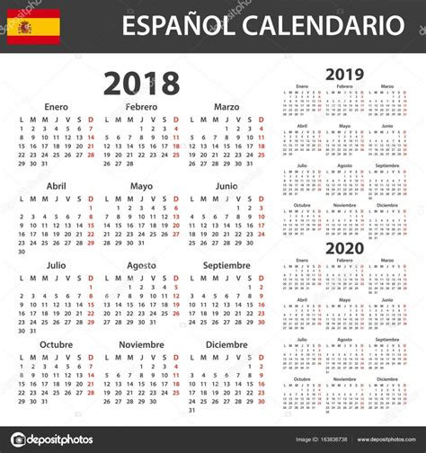agenda anual 2018 la 849472696x calendario espa 241 ol para 2018 2019 y 2020 plantilla de planificador agenda o diario la semana
