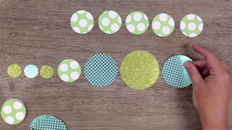 How To Make A Circle With Paper - paper circle garland