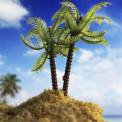 artificial palm tree for dollhouse miniature artificial palm tree what s new dollhouse miniatures doll supplies