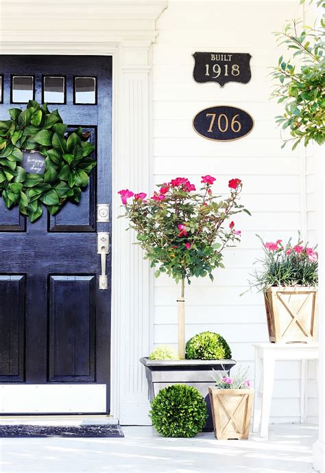 spring decorating ideas for your front door 20 beautiful spring porch and patio ideas home stories a