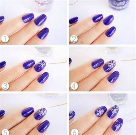 easy nail designs step by step at home