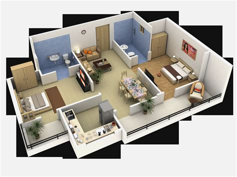 layout interior single floor bedroom house plans interior design ideas