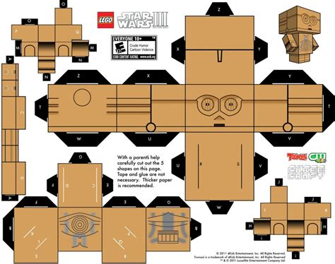 Papercraft Template - papercraft templates guidance