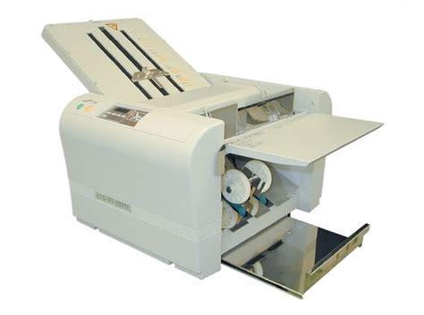 Paper Folding Machine Uk - superfax pf215 a3 paper folding machine superfax 215 a3