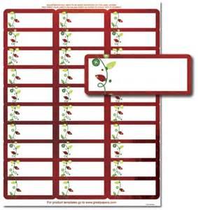 holiday address labels string of lights address labels