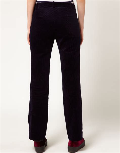 Sweater Macbeth Jumbo Navy jumbo cord erika trousers in blue lyst