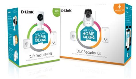 security kits d link s networking solutions at ces 2015