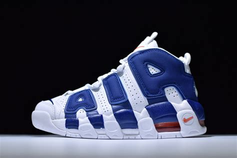 basketball shoes new york gs nike air more uptempo new york knicks 415082 103