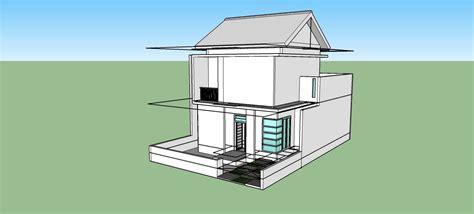 tutorial gambar rumah dengan sketchup sketchup modeling tutorial rumah 2 lantai part 2 pintu dan