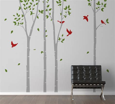 zazous wall stickers trees wall sticker by zazous notonthehighstreet