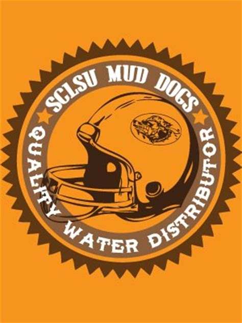 sclsu mud dogs sclsu mud dogs orange s t shirt inspired by the waterboy buy at