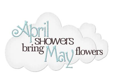 lindsay ostrom april showers bring may flowers