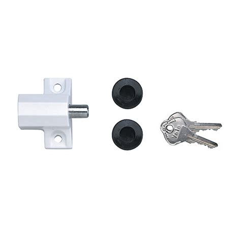 Yale Patio Door Lock Yale P 114 We Patio Door Lock White Wickes Co Uk
