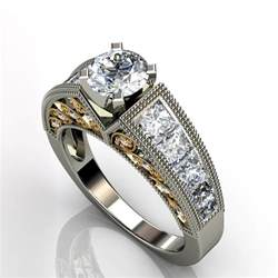 white gold wedding ring sets on sale hd black and white