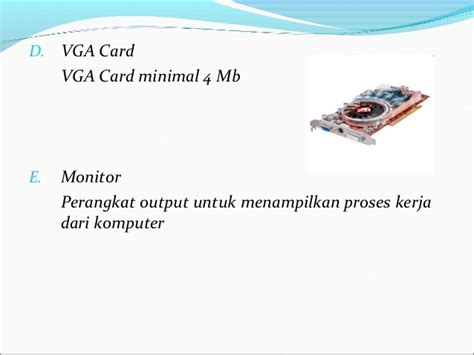 Vga Card Untuk Pentium 4 Perangkat Keras Intranet