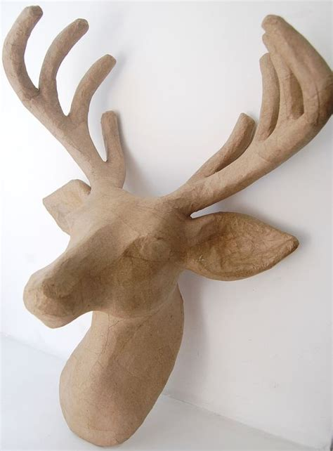 Paper Mache Reindeer Craft - satimat green paper mache crafts
