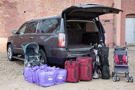 gmc yukon trunk space 2015 gmc yukon xl real world cargo space