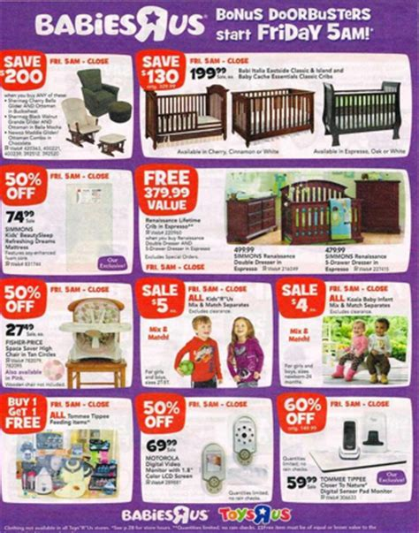 babies r us deals babies r us black friday deals lots of 50 or better