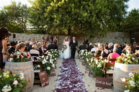 small backyard wedding ceremony burgundy dahlia black tie backyard wedding bridalpulse