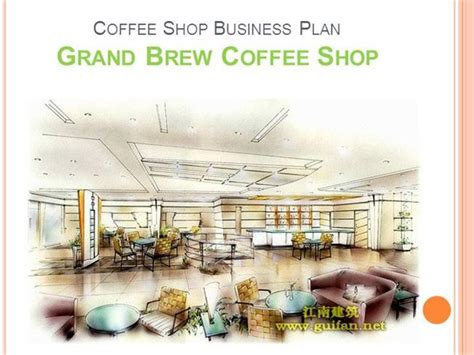coffee shop design pdf coffee shop business plan authorstream