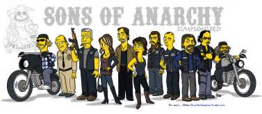 Sons of anarchy simpsonized dravens tales from the crypt