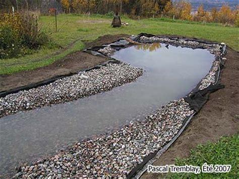 how to build a backyard stream streambed landscaping design idea diy garden creek or garden stream