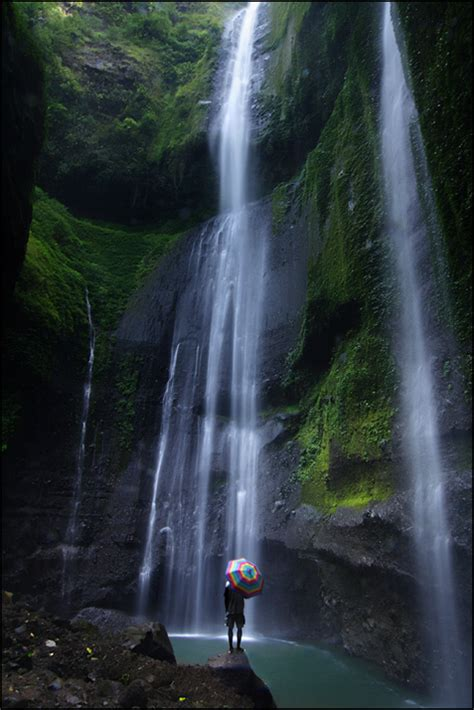 madakaripura waterfall probolinggo east java