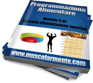 programma alimentare per definizione muscolare fisico perfetto program muscolarmente