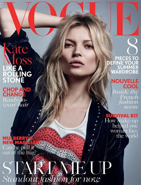 Cbell Kate Moss On The Cover Of Vogue February 2008 by Vogue Cover Exhibitionism The Rolling Stones
