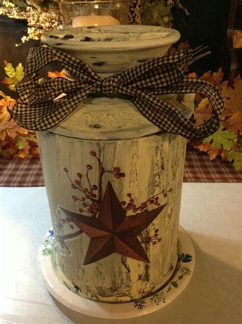 christmas milk can ideas pinterest crackeled paint primitive crafts primitives milk jugs and crafty