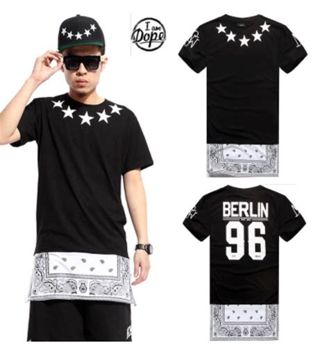 kaos hood96 by hip hop aliexpress buy by air hba brand s extended