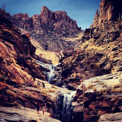 seven falls in tucson az arizona d fall