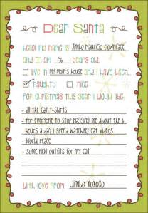 List For Santa Template Santa Wish List Template Www Imgarcade Com Online