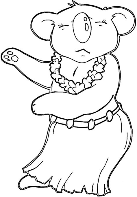 coloring pages of koala australian animal template animal templates free